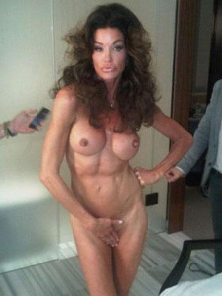 janice dickinson nude Janice Dickinson needs to cover up